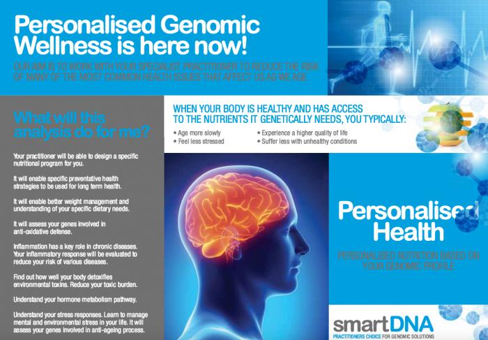 genetic wellness test - nutrigenomics
